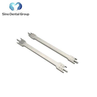2 X Orthodontic Bracket Height Gauge Braces Positioner Ortho Lab Instruments
