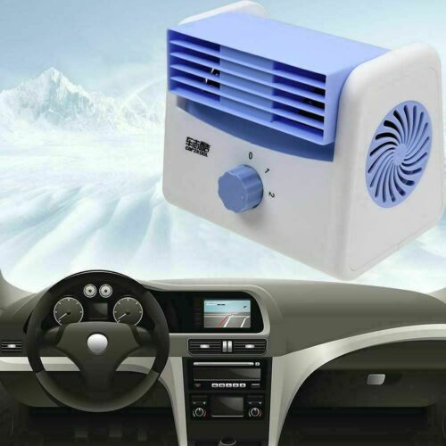 12-24 Car Air Conditioner Quiet Cooling Fan Silent Portable