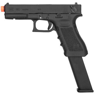 UMAREX GLOCK™ 18C Full Auto GBB Airsoft Pistol w/ Extended Mag by VFC 2276332