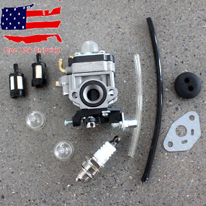 Carburetor F 23CC Goped Bigfoot Zenoah G23LH G2D GO-PED Scooter with Spark Plug
