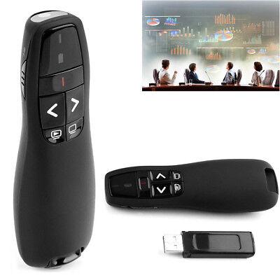 2.4GHz Wireless Presenter Presentation USB Remote Control Powerpoint PPT Clicker