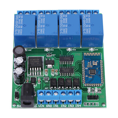 4 Channel Wifi Bluetooth Network Relay Module Wireless Remote Control Switch Hot