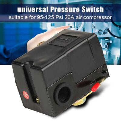 Air Compressor Accessories Pressure Regulator Switch Control Valve 95-125 Psi