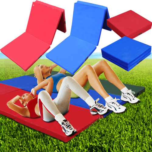 "2"" Thick Folding Gymnastics Mat Gym Fitness Exercise"