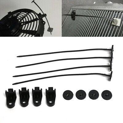 Cooler Tie Rod Universal Fan Mounting Kit Bracket Electric Radiator Car Cooling