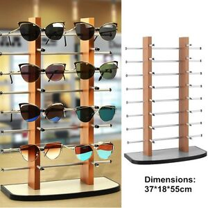 16 Pair Sunglasses Glasses Rack Retail Shop Display Unit  Holder Frame Stand UK