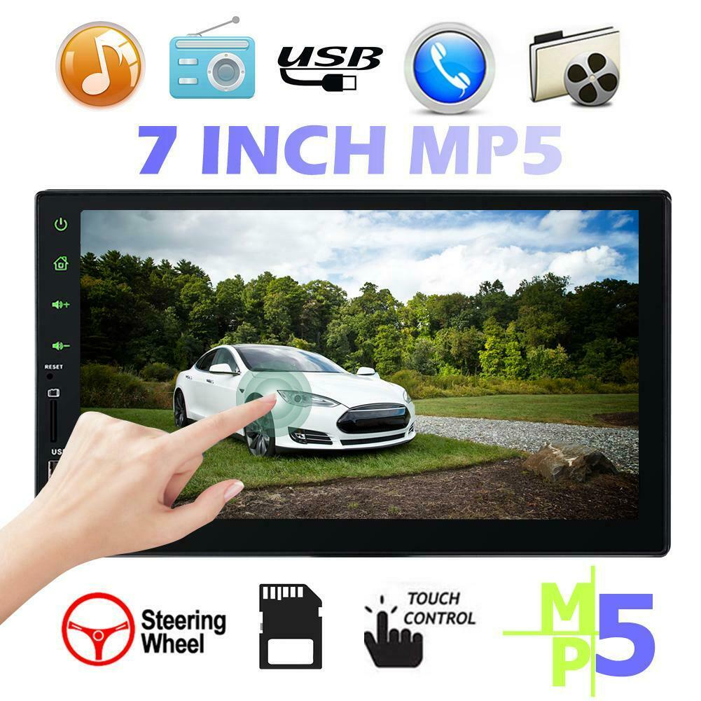 7 double 1080p 2 din car gps