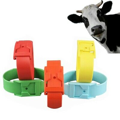 5pcs Cattle Identification Ring Cow Mark Band Footmark Forestry Farm Equipment