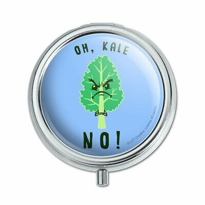 Oh Kale Hell No Funny Humor Pill Case Trinket Gift Box