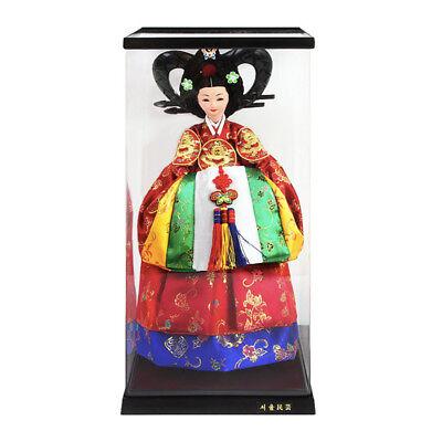 """Korean Traditional Handicraft Hanbok Dolls Empress Myeongseong 15"""" Figure Gift"""
