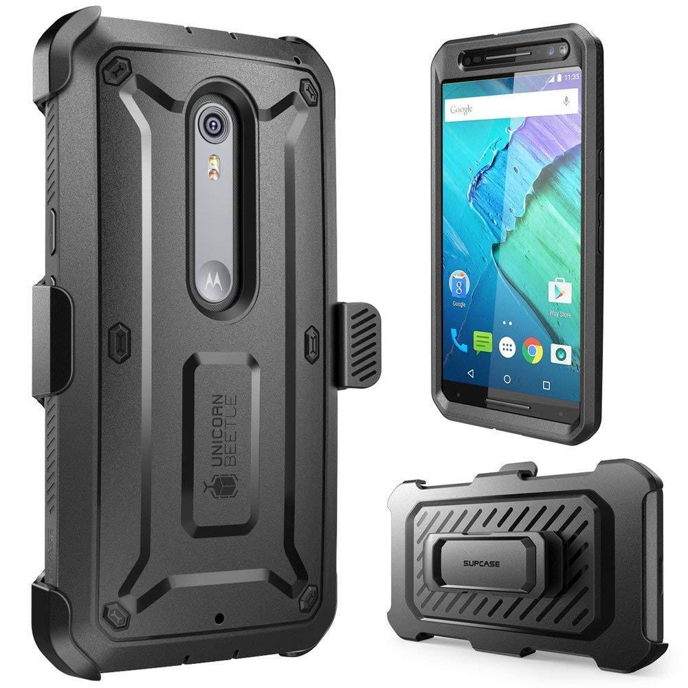 the latest 0d100 bc14d Details about Moto X Style / Pure Edition Case, SUPCASE Protective Holster  Cover for Motorola