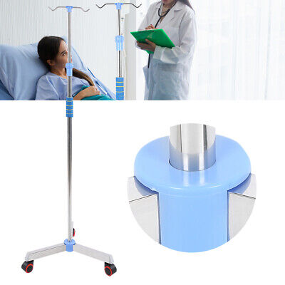 Rolling Iv Drip Stand Adjustable Iv Pole Stainless Steel Iv Bag Stand Holder