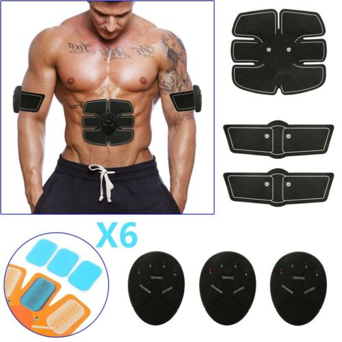 ABS Simulator EMS Training Smart Body Abdominal Muscle Exerciser Abdominal Exercisers