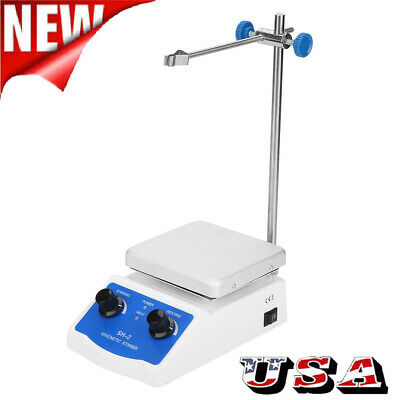 Sh-2 Digital Thermostatic Hot Plate Magnetic Stirrer Mixer 110v 180w