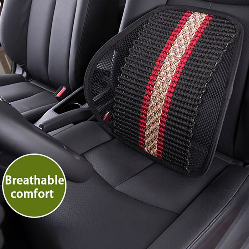 Seat Cushion Posture Corrector Car Office Chair Mesh Lumbar
