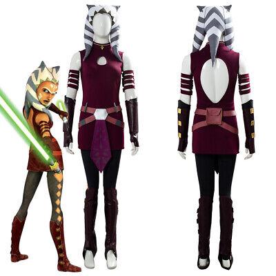 Star Wars: The Clone Wars Ahsoka Tano Cosplay - Ahsoka Tano Halloween Kostüm