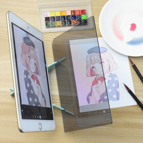 Imaging Drawing Board- Sketch Reflect Dimming Bracket Paint Mirror Plate Tracing