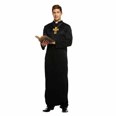 Erwachsene Priester Kostüm Kirche Vikar Vater Ted Junggesellenabschied - Priester Jungen Kostüm
