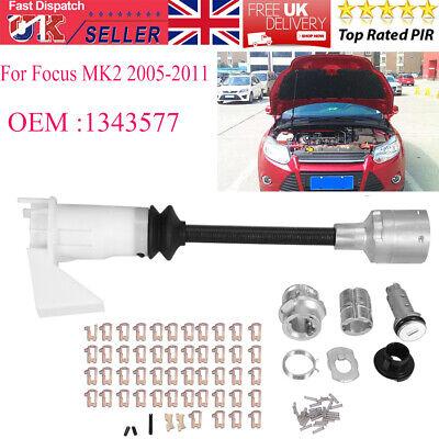 1343577 Bonnet Release Lock Latch Repair Set Kit For Ford Focus MK2 2005-2011 UK