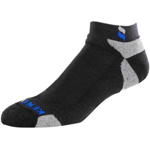 Kentwool I1205 - Tour Profile Golf Socks - Black/Grey - Closeouts