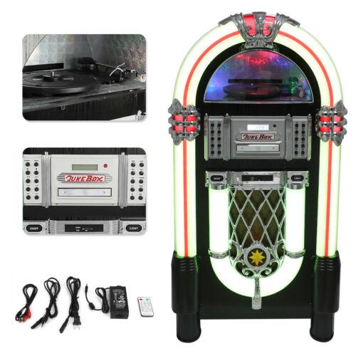 vintage jukebox stereo mp3 cd player usb