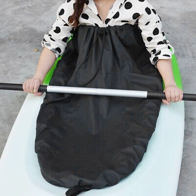 Waterproof Adjustable Kayak Spray Skirt Deck Sprayskirt Cover Gray Nylon - Nylon Spray Skirt