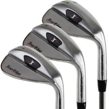 Tour Edge Golf TGS 3-Piece Wedge Set (52*/56*/60*) Approach, Sand & Lob NEW