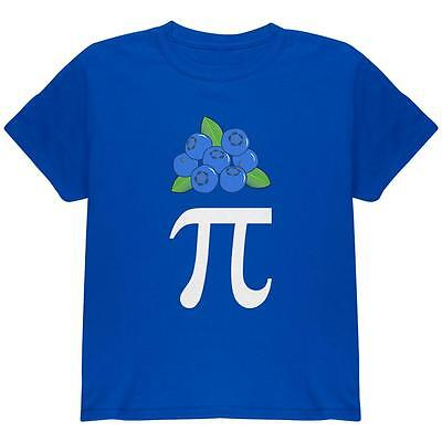Halloween Math Pi Costume Blueberry Day Youth T Shirt (Halloween Math)