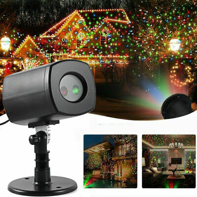 Christmas Laser Projector Shower Light LED MOTION Outdoor In