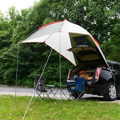 2.4*2M Car Awning Tent Rooftop SUV Camping Travel Shelter Outdoor Pickup Tent US