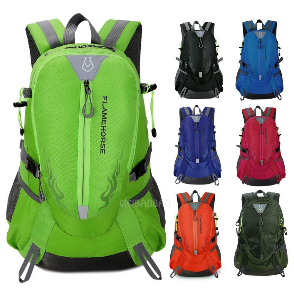 FLAME HORSE Rucksack Outdoor Backpack Hiking Bag Camping Travel Waterproof Packs