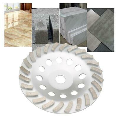 7 Inch 24 Seg Diamond Cup Wheel Concrete Stone Masonry Grinding Heavy Duty
