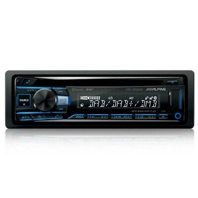 Alpine CDE-205DAB Autorradio 1 din Receptor DAB+ Bluetooth Avanzado CD mp3 Negro