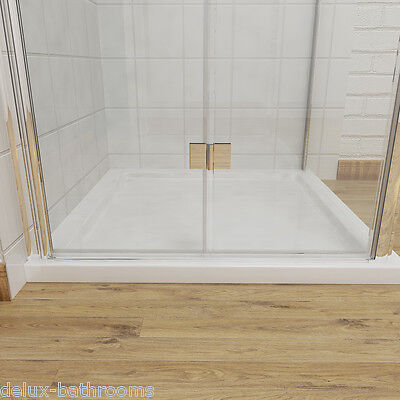Frameless Bifold Shower Door Enclosure Hinge Door Glass