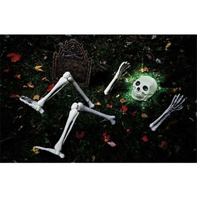 Popular Halloween Props Luminous Human Skeleton Hanging Decoration Outdoor Party