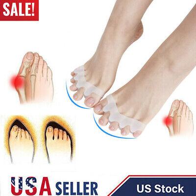 2 Bunion Corrector Hammer Toe Splint Straightener Orthopedic Brace Hallux Valgus ()