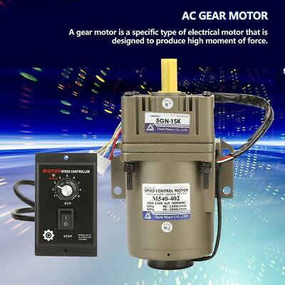 Bauer 5 watt 40 min getriebemotor 220 v sterngetriebe G042-10  gearbox