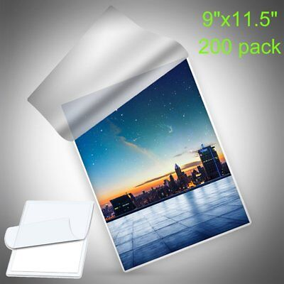 200 Thermal Laminating Pouches 3 Mil 9x11.5 Letter Size Laminator Imagelast