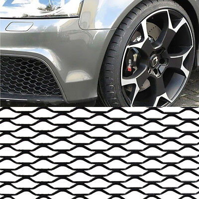 "Hot 40"" x 13"" Universal Aluminum Car Vehicle Grille Net Mesh Section Black"
