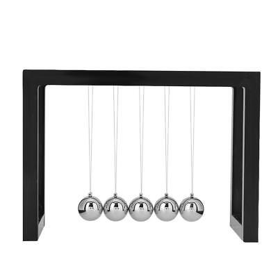 Metal Newtons Cradle Executive Balance Balls Science Pendulum Gift Desk Decor