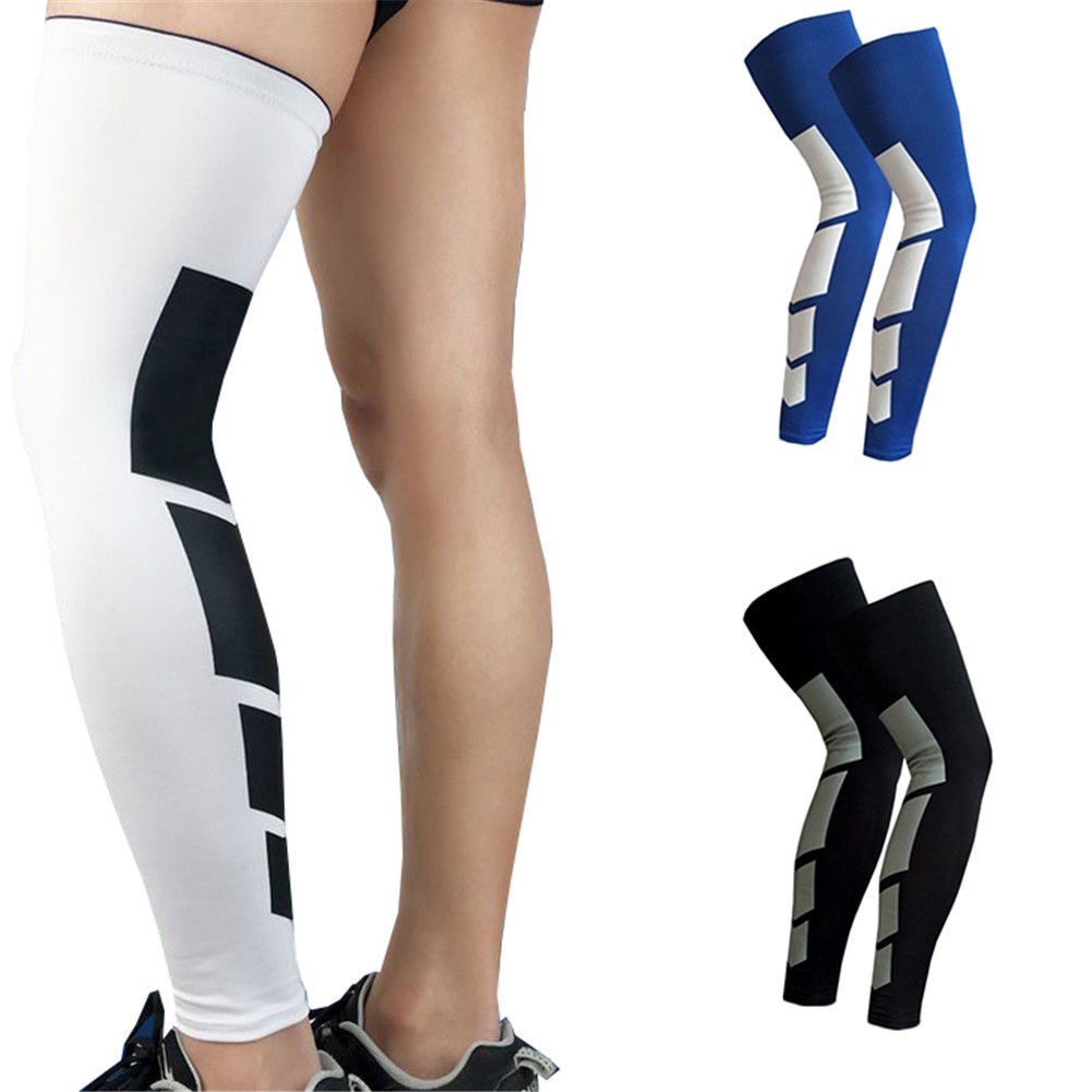 Thigh High Compression Sleeves Mens Womens Yoga Knee Sport S