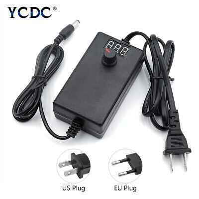 Universal Adjustable Acdc Power Supply Adapter Volt Display 3-12v 2a9-24v 1a