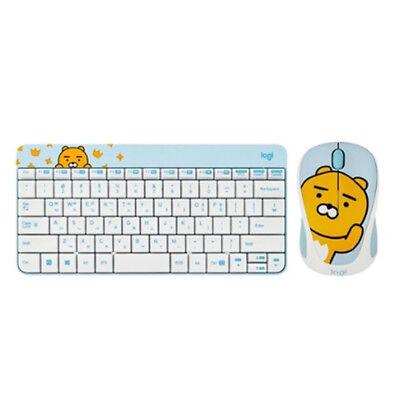 KAKAO FRIENDS  Wireless Compact Keyboard and mouse set -Ryan