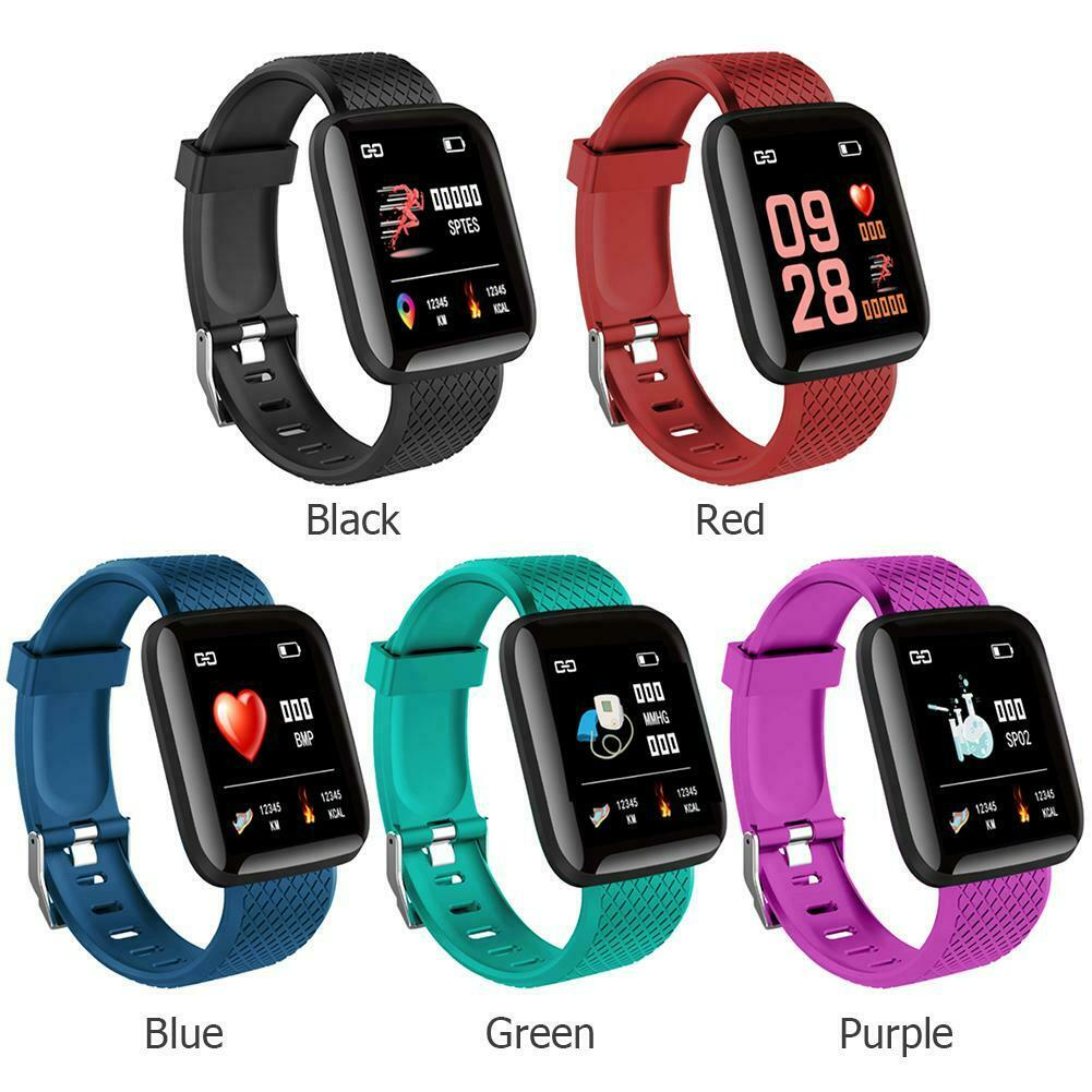 Latest Bluetooth Waterproof Heart Rate Blood Pressure Waterproof Smart Watch