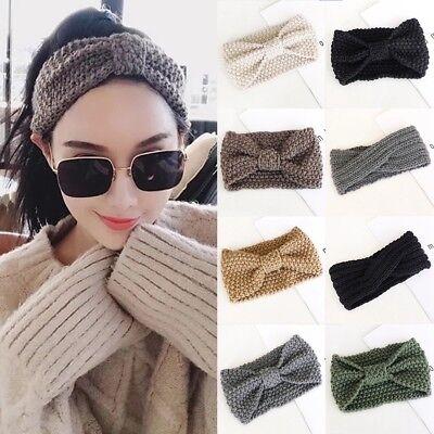 Frauen und Baby häkeln Stirnband stricken Hairband Ohr wärmer Winter Headwrap