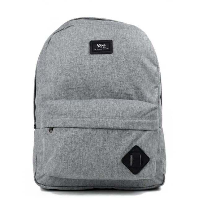 vans grey old skool backpack