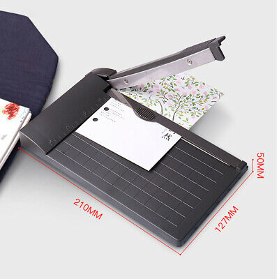 Portable A5 Paper Trimmer Photo Paper Guillotine With Ruler Paper Cutter Office