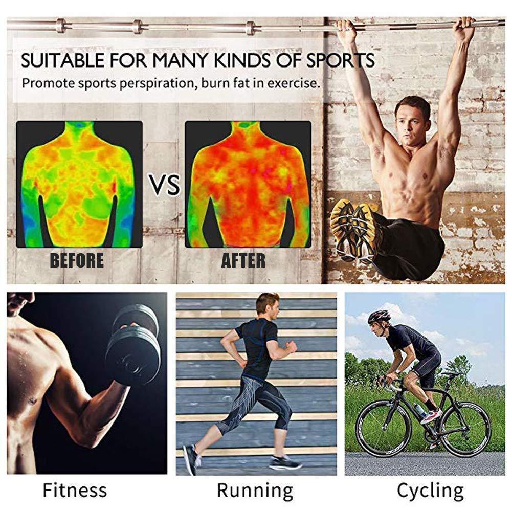 Men's Weight Neoprene Body Sweat Sauna Suit Top