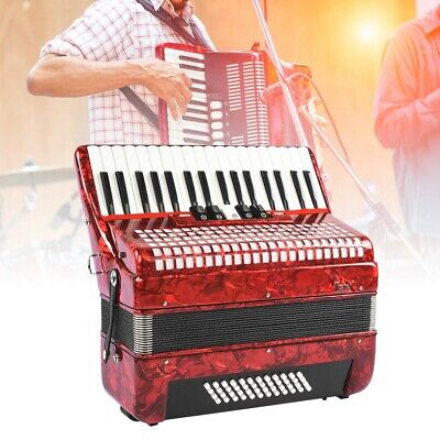 Pro 34 Keys 48 Bass Concert Accordion Hand Piano Accordion for Accordionist New