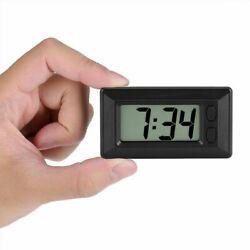 Digital LCD Home Office Table Car Dashboard Desk Date Time Calendar Small Clocks